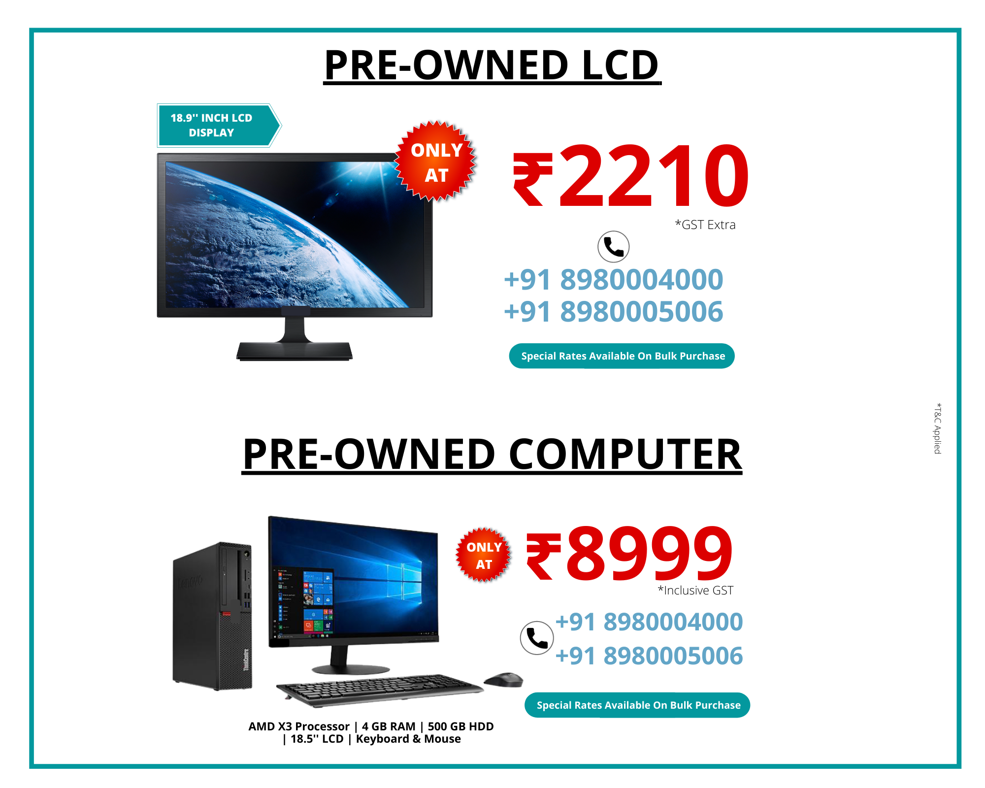 pre-owned product