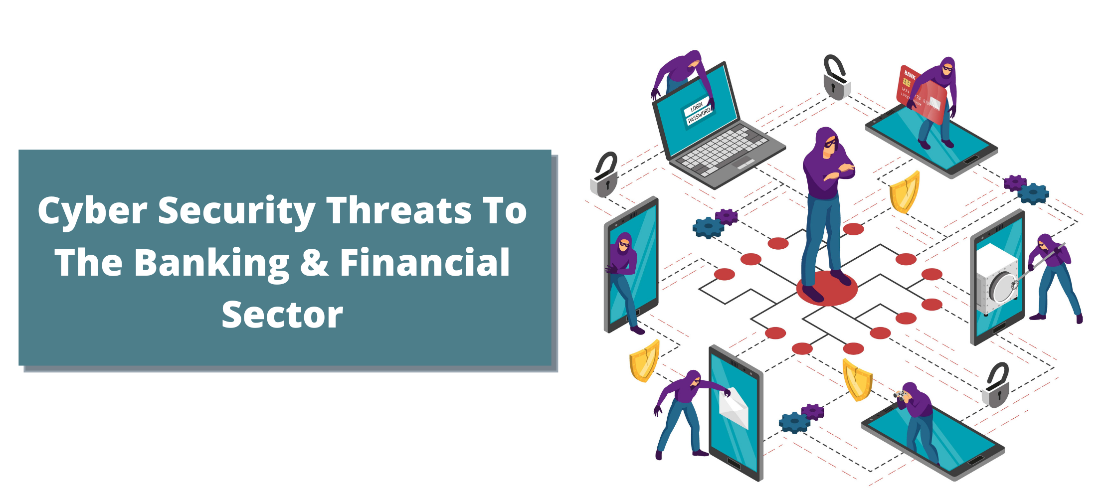 Major Cyber threats in Banking and Finance Sector (BFSI) Organization in 2020