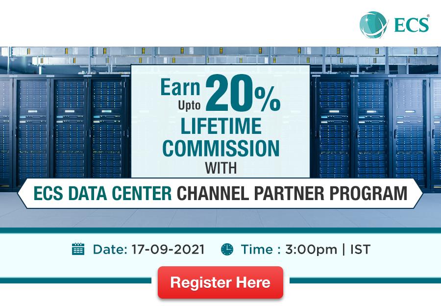 ECS Data Center Channel Partner Program